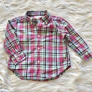 Ralph Lauren 18months boy plaid shirt